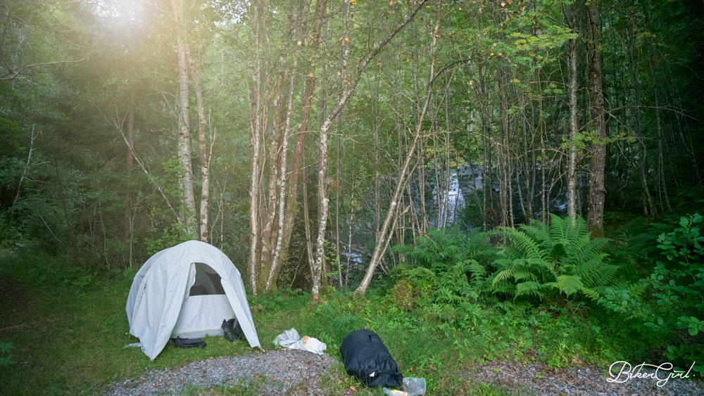 THE BEST CAMPING SPOT EVER